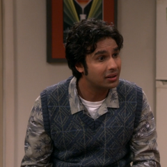 Raj tells him how excited his boss was.