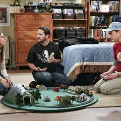 Wil Wheaton cannot use Sheldon's train whistle.