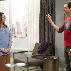 Sheldon's coitus schedule.
