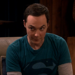 Sheldon after revealing Leonard's secret bank account.