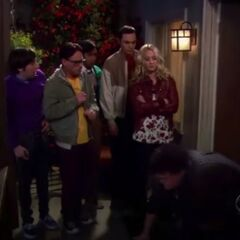 Penny helping them with the bully.