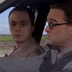 Sheldon unhappy that Leonard figured out his