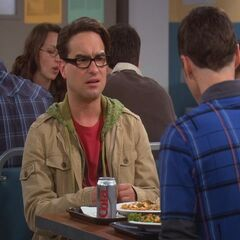 Leonard seeking advice about Penny from Sheldon.