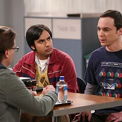 Sheldon perplexed.