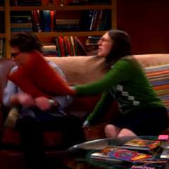 Amy goes ballistic over Leonard letting Sheldon go.