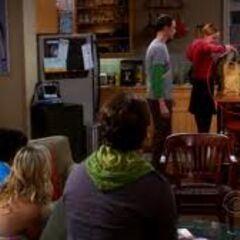 The gang fascinated by this girl that is interested in Sheldon.