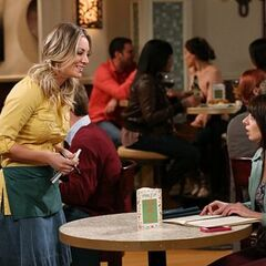 Penny confronting Lucy about how she treated Raj.