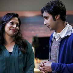 Anu and Raj.