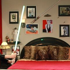 Light saber play.