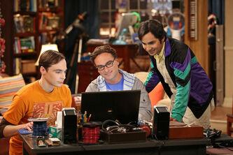 The Decoupling Fluctuation Sheldon, Leonard and Raj