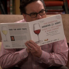 Scratch and sniff wine tasting book.