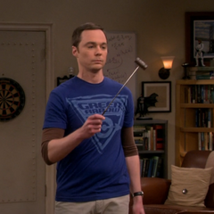 Sheldon's travel gavel.