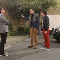 Sheldon explains his contributions to the university.