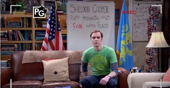 BBT - Sheldon getting ready for his show