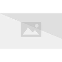 Laura in front of her trailer.