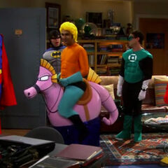 Aquaman sucks! & The Justice League Recombination | The Big Bang Theory Wiki | FANDOM ...