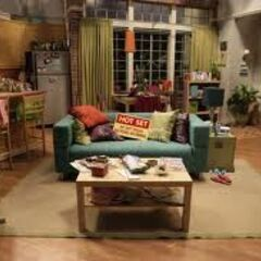 Penny's living room.