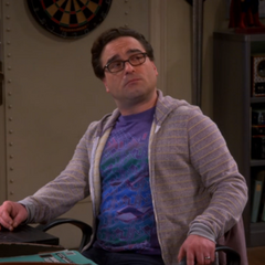 Leonard getting Sheldon's apology.