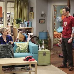Sheldon is still mad at Amy.