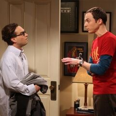 Leonard asks Sheldon to lie for him.
