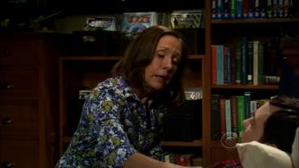 Mary comforts Sheldon