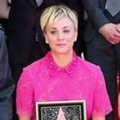 Kaley gets her star on Hollywood Blvd.