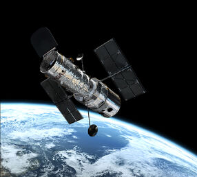 Hubble in orbit1