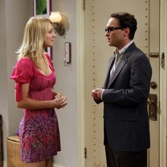 Penny and Leonard's first date.