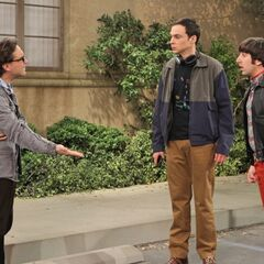 Leonard tells them that their argument is over a stupid parking spot.