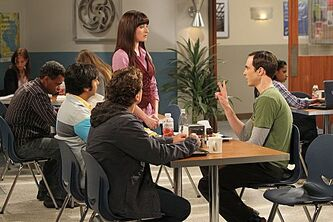 TBBT 6x03 The gang and Alex