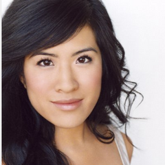 Melissa Tang plays Leonard's kissing buddy.