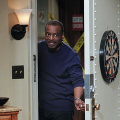 Levar was invited by Sheldon to his party.