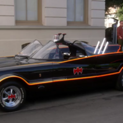 TV series 1960's era Batmobile.