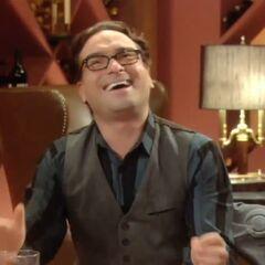 Leonard laughs out loud.