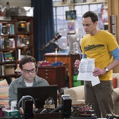 Sheldon telling Leonard that only his (Sheldon's) name is on the cable bill.