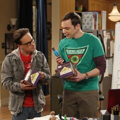Leonard and Sheldon.