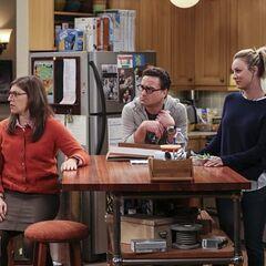 Watching Sheldon dance.