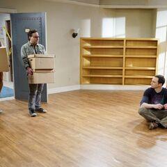 |Sheldon is alone.