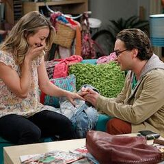 Leonard proposing.