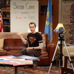 Sheldon Cooper presents <i>Fun with Flags</i>.