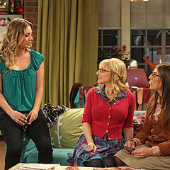 Penny tells the girls Amy doesn't have a boyfriend, but she has a Sheldon.