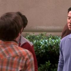 Sheldon's not here.