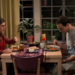 Dinner with Shamy.