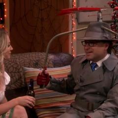 Leonard and Penny.
