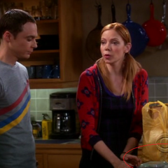 Sheldon and Ramona.