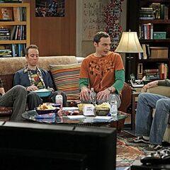 Sheldon and his new gang.