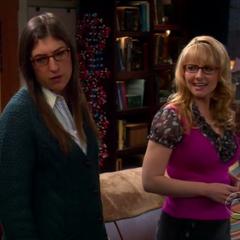 Amy & Bernadette.