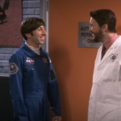 Introducing astronaut Howard Wolowitz.