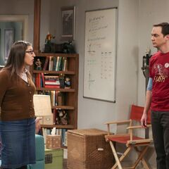 Amy wants to know what is bothering Sheldon.