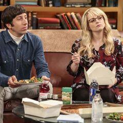 Sheldon insulting pregnant women.